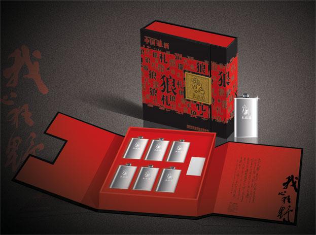 国内狼酒品牌包装系列设计欣赏(3)