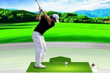 模拟高尔夫公司画册设计