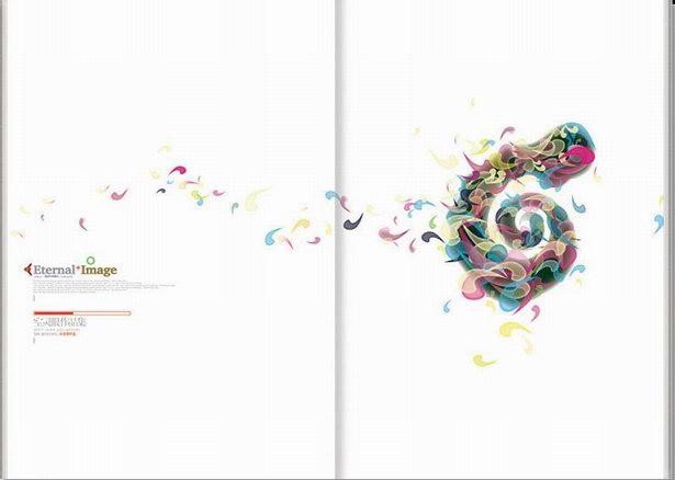扉页设计极为优雅灵动,个性十足!图片